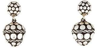 John Hardy Dot Drop Earrings