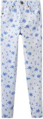 Joules Girls Linnet Print Denim Jeans