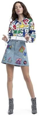 Alice + Olivia Keith Haring X Ao Barron Hoodie