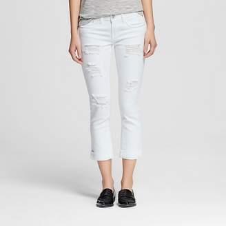 Dollhouse Women's' Mid Rise Rolled Crop Jeans-Dollhouse (Juniors') $29.99 thestylecure.com