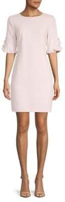 Karl Lagerfeld Paris Faux Pearl-Embellished Sheath Dress