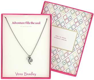 Vera Bradley Adventure Fills the Soul Pendant Necklace