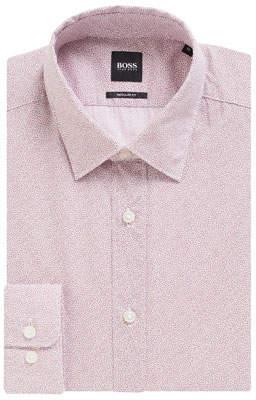 BOSS Men's Lukas Regular Fit Dress Shirt