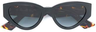 Christian Dior cat-eye shaped sunglasses