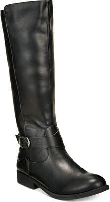 Style&Co. Style & Co Madixe Wide-Calf Riding Boots, Created for Macy's