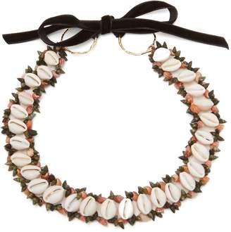 HEIMAT ATLANTICA Sybile shell choker necklace