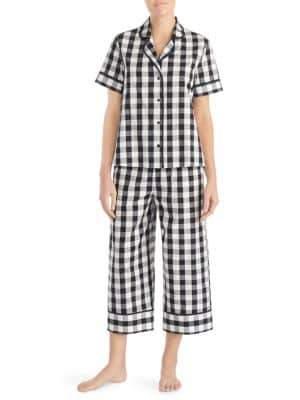 Kate Spade Ice Cream Crop Pajamas