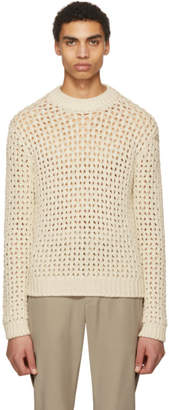 Acne Studios Off-White Noailles Solid Sweater