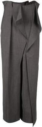 Enfold deconstructed high-waist trousers