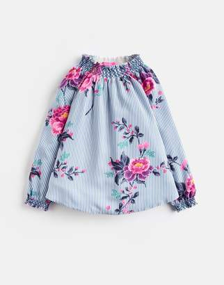 Joules Clothing Younger addison Woven Smocked Blouse