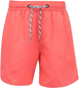 Snapper Rock Neon Coral Hybrid Board Shorts