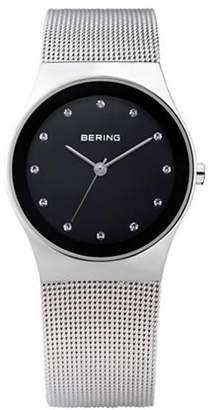 Swarovski BERING Classic Analog Black Dial Crystal Watch