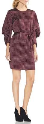 Vince Camuto Geo Trinket Belted Dress