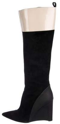 Derek Lam Knee-High Wedge Boots