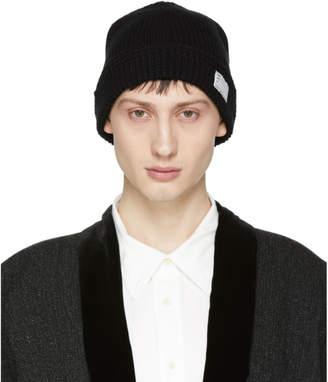 Visvim Black Knit Beanie
