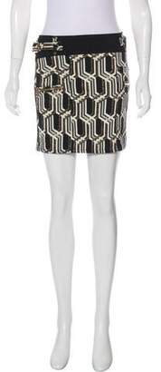Genetic x Liberty Ross Metallic Mini Skirt
