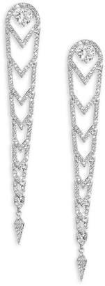 Adriana Orsini Women's Stella Linear Drop Earrings