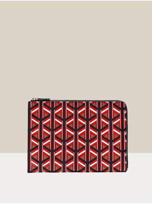 Diane von Furstenberg Ary Leather Ipad Sleeve