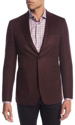 Brioni Cashmere-Silk Two-Button Blazer