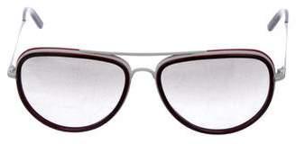 Burberry Aviator Reflective Sunglasses