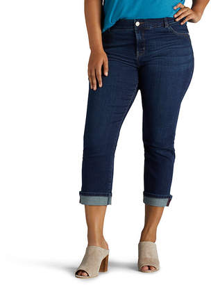 Lee Midrise Total Freedom Denim Kilee Crop-Plus