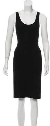 Narciso Rodriguez Sleeveless Lace-Up Dress w/ Tags