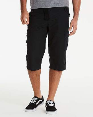 Jacamo Black Atlas 3/4 Shorts
