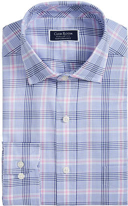 Club Room Men Classic-Fit AlfaTech Glenplaid Shirt