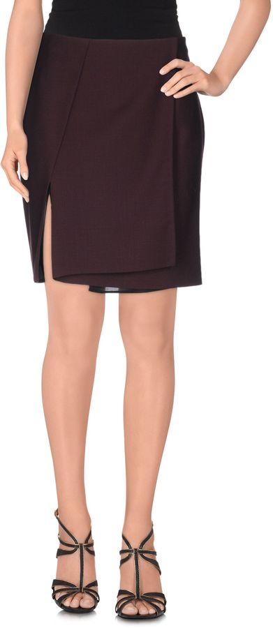 ChalayanCHALAYAN Knee length skirts