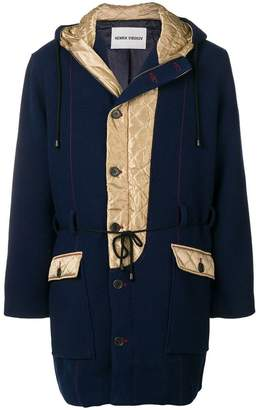 Henrik Vibskov quilted duffle coat