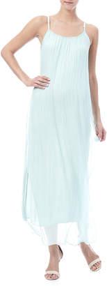Tu Anh Boutique Silk Maxi Dress