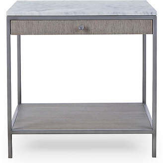 Paxton Side Table - White Marble - Maison 55
