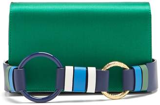Diane von Furstenberg Soirée satin cross-body bag