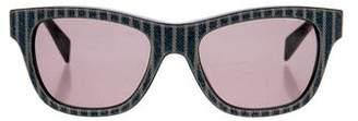 Diesel Striped Denimeye Sunglasses