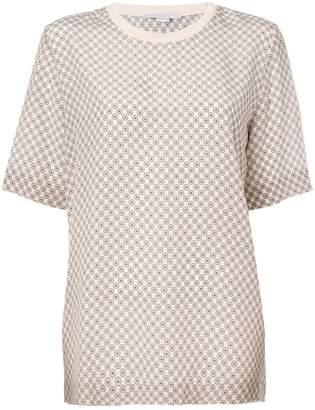 Stella McCartney tie print T-shirt