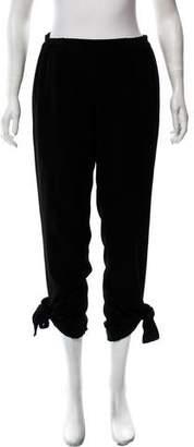 MICHAEL Michael Kors Cropped Mid-Rise Pants