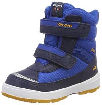 Viking Unisex Kids' 3-87025 Cross Blue Size: 7 UK