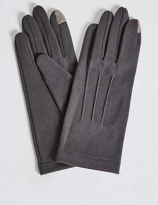 Marks and Spencer Touchscreen Jersey Gloves