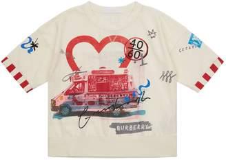 Burberry Ice Cream Print T-Shirt
