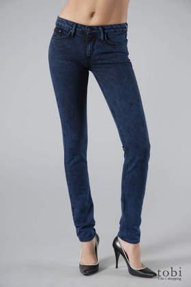 Corpus Skinny Leg Jeans in Blue Acid