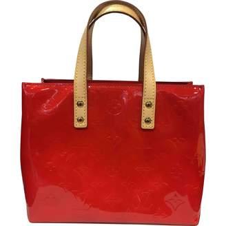 Louis Vuitton Vintage Houston Red Patent leather Handbag