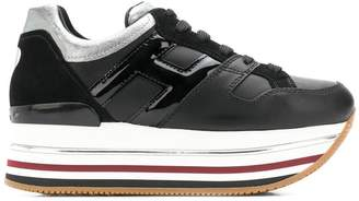 Hogan panelled platform sneakers