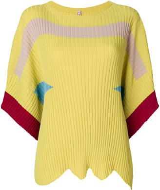 Antonio Marras colour block knit top