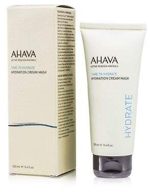 Ahava NEW Time To Hydrate Hydration Cream Mask 100ml Womens Skin Care