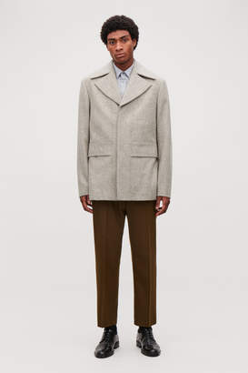 Cos SHORT WOOL PEACOAT