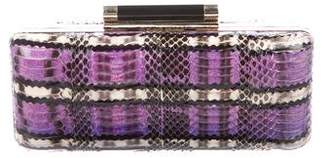 Diane von Furstenberg Snakeskin Crossbody Bag