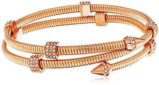 Vince Camuto Coil with Pave Burnt Rose Gold Bracelet