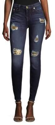 True Religion Sequin Skinny Jeans