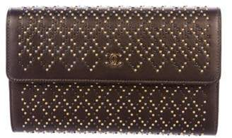 Chanel Studded Wallet on Chain Metallic Studded Wallet on Chain