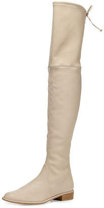 Stuart Weitzman Lowland Leather Over-the-Knee Boot
